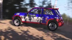 renault australia sébastien loeb rally evo renault maxi turbo 5 australia youtube