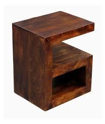buy 1 junglewood gama light walnut multipurpose side table get 1