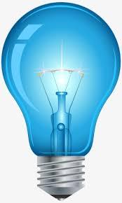 blue free light bulbs hand painted blue light bulb hand painted blue light bulb png
