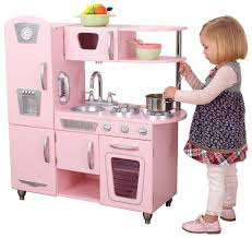 cuisine kidkraft blanche cocinita kidkraft juguete cocina para niñas rosa