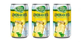 Bud Light Margaritas Bud Light Lime Launches Lemon Ade Rita