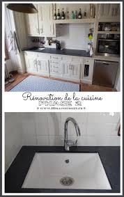cuisine renovation fr phase 2 de la rénovation de la cuisine plan de travail et évier