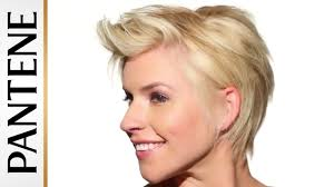 Easy Messy Hairstyles For Short Hair by Textured Messy Pixie Cut Easy Hairstyles For Short Hair Youtube