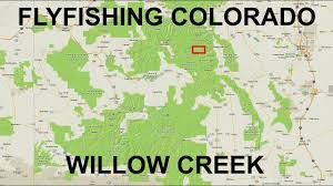 Cripple Creek Colorado Map by Fishing Near Tincup Co Willow Creek Youtube