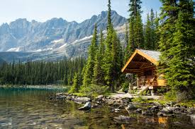 lake o hara lodge cabins british columbia canada tiny houses tiny homes tiny house plans small house plans micro home