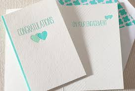 congratulations on engagement card stationery a z engagement congratulations cards
