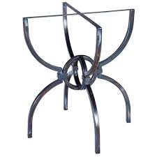 Iron Table Base Iron Table Base Styles To Love Artisan Crafted Iron Furnishings
