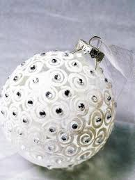 Make Christmas Greenery Decorations by Swirls And Rhinestones Ornament To Make Christmas Decorations