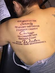 the 25 best serenity prayer tattoo ideas on pinterest serenity