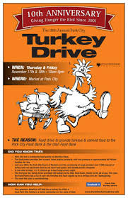 park city board of realtors turkey drive thanksgiving