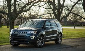 cars ford explorer 2017 ford explorer in depth model review car and driver