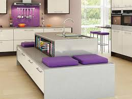 bench for kitchen island 20 kitchen island with seating ideas home dreamy