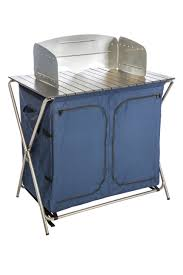 Folding Table With Sink Kamp Rite Kwik Pantry With Cook Table Kamp Rite