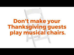 need more thanksgiving chairs