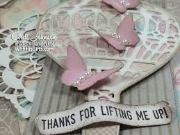 lift me up shabby chic card youtube