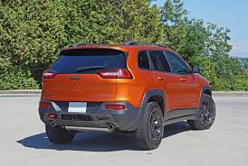 hunting jeep cherokee 2015 jeep cherokee trailhawk 4x4 road test review carcostcanada