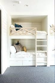 Bunk Beds Built Into Wall Furniture Bedroom Room Decor Ideas Cool Bunk Beds Built
