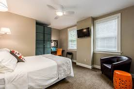 Orange Parsons Chair Lodging Near Capital University In Bexley Ohio