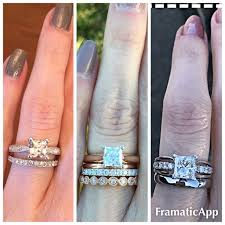most comfortable wedding band wedding band with a solitaire engagement ring weddingbee page 3