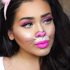 Crazy Woman Halloween Costume 25 Bunny Makeup Ideas Deer Face Paint Bunny