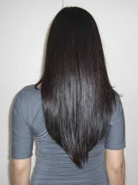 back of the hair long layers v shape cut hair pinterest shapes long layered hair and