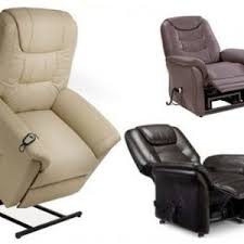 real leather electric rise and recline mobility chair lift tilt