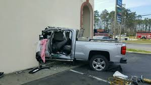 Sherwin Williams by Photos Truck Crashes Through Sherwin Williams Store In North