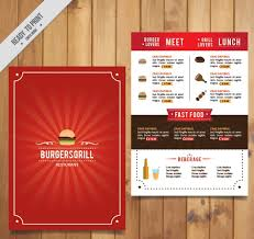 snack bar menu template 50 free restaurant menu templates food flyers covers psd vector