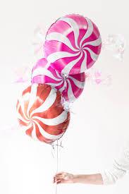 diy peppermint candy balloons christmas balloon time studio