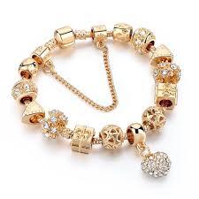 bracelet luxury crystal images Luxury crystal heart charm bracelet juice time urban streetwear jpeg