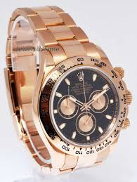 rose gold aston martin rolex daytona chronograph 18k rose gold watch u0026amp box random s n