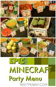 minecraft birthday party ideas epic minecraft birthday party ideas meet