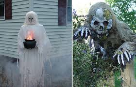 scary outdoor halloween decorations outdoor halloween decorations
