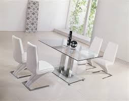 Glass Dining Table And 6 Chairs Jet Glass Dining Table And Z Chairs Glass Dining Table And Chairs