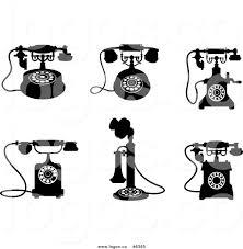 retro martini clip art retro black and white clipart 74