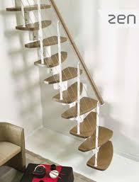 escalier bois design escalier gain de place design fontanot zen en acier bois
