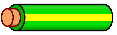 file wire green yellow stripe svg wikimedia commons