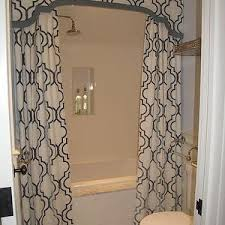 brown and gray shower curtain curtains wall decor