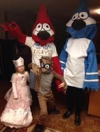 Rigby Halloween Costume Regular Show Mordecai Hat Fleece Cosplay Cap Ski Cosplay Cap