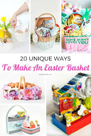 Homemade Easter Baskets by Diy Easter Baskets 20 Unique Ideas The Eyes Of A Boy