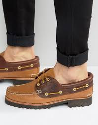 buy timberland boots near me buy timberland timberland lug boat shoes brown by
