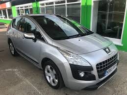 peugeot crossover used used 2010 peugeot 3008 exclusive hdi 5dr for sale in thetford