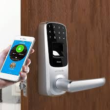 amazon com ultraloq ul3 bt bluetooth enabled fingerprint and