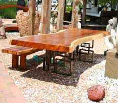 Acacia Wood Dining Room Furniture Fantastic Acacia Slab Dining Table Acia Wood Dining Table And Slab