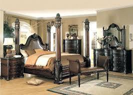 Black King Canopy Bed Innovational King Size Black Bedroom Sets U2013 Soundvine Co