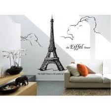 Eiffel Tower Room Decor Diy Eiffel Tower Big Wall Stickers Mural Paris Room Decor Vinyl