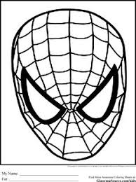 special free spiderman coloring book spiderman pictures
