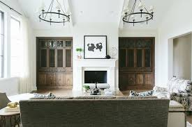 living room cabinets with doors built in tv cabinets with mesh metal grille doors transitional
