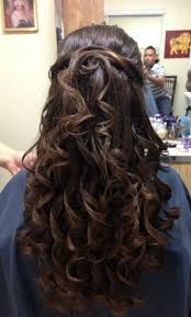 36 best quincenera hairstyles images on pinterest hairstyles