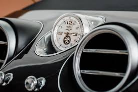 bentley car bentley bentayga u0027s breitling mulliner tourbillon clock is the